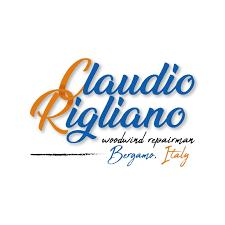 Claudio Rigliano riparazione strumenti musicali. LOGO